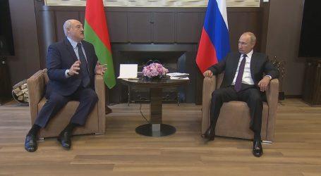 """PUTINOV GLASNOGOVORNIK: """"Lukašenko je legitimno izabrani predsjednik"""""""