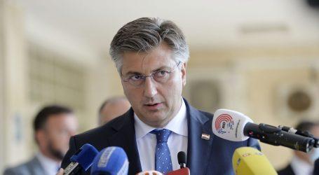 """Plenković: """"Ne pratim zastupnike Mosta, nisu mi uopće zanimljivi"""""""