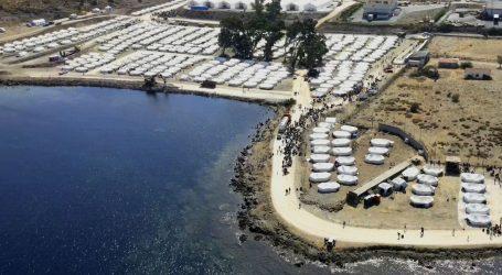 Većina potražitelja azila na Lezbosu smještena u novom privremenom logoru
