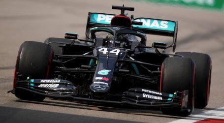 VN Rusije: Hamilton najbrži na zadnjem slobodnom treningu