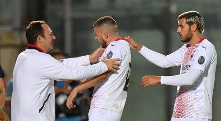 Rebić ozlijedio rame u pobjedi Milana, remi Rome i Juventusa