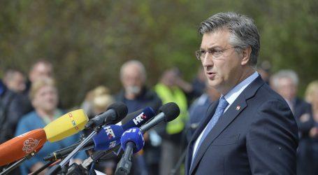 """Plenković: """"U Varivodama počinjen težak zločin protiv nevinih ljudi"""""""