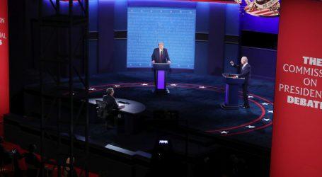 """Anketa: Većina gledatelja debate """"iznervirana"""", misli da je Biden pobijedio"""