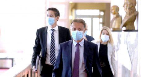 Jandroković najavio – od sutra u sabornici obavezne zaštitne maske