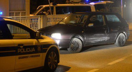Noćna potjera za crnim Golfom u Dubravi, policija pucala u zrak