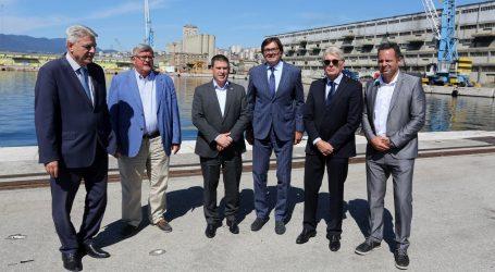 Potpisan ugovor o unapređenju infrastrukture u riječkoj luci vrijedan 268 mln kn