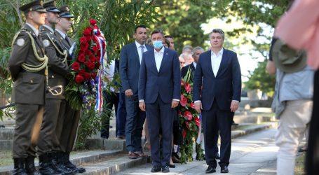 Milanović i Pahor na obilježavanju 77. obljetnice oslobođenja logoraša Kampora