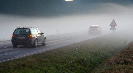 HAK: Kolnici mokri i skliski, magla u unutrašnjosti