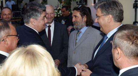 Milanović i Plenković na svečanoj sjednici u povodu Dana Varaždinske županije