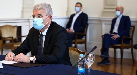 """Džaferović: """"Razgovori čelnika BiH stranaka s hrvatskim dužnosnicima su u redu"""""""