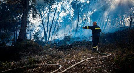 Veliki požar u južnom predgrađu Mostara