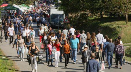 HAK: Kolona hodočasnika na autocesti Zagreb – Goričan