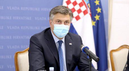 """Plenković: """"Prioritet je do kraja mandata povećati mirovine za 10 posto"""""""