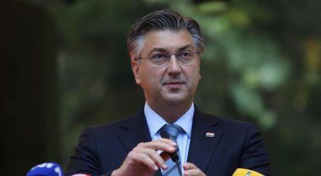 """Plenković odgovorio Milanoviću: """"Vidi se iz aviona da se stabilizirao. Treba se vratiti glavnoj temi"""""""