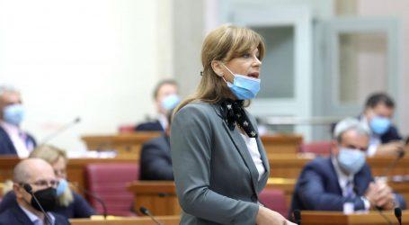 BURNO U SABORU: Krišto napala Jandrokovića, on je izbacio iz sabornice jer nije nosila masku