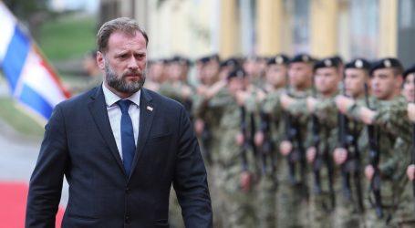 """Banožić čestitao Dan policije: """"S HV-om činite temelj sigurnosti"""""""