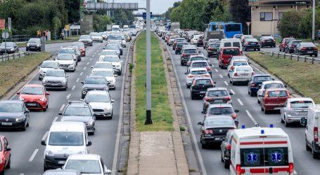 Automobilska utrka uzrokovala neuobičajene gužve u Zagrebu