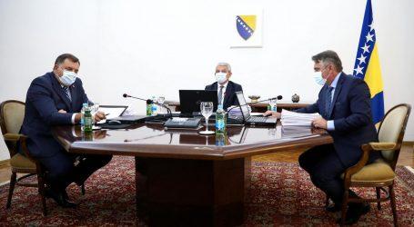 """Džaferović i Komšić: """"Milanović i Plenković griješe sastajući se s Dodikom"""""""