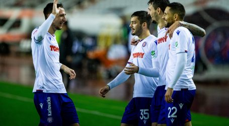 Hajduk golovima Gyurcsa i Caktaša svladao Varaždin