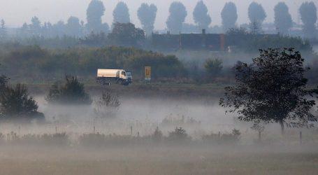 HAK: Magla u unutrašnjosti, ograničenja zbog vjetra na Jadranskoj magistrali