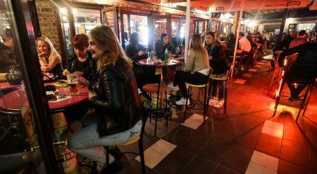 Produljena mjera za noćne klubove i barove: Još dva tjedna ne mogu raditi iza ponoći