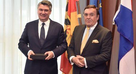 Milanović završio službeni posjet Njemačkoj