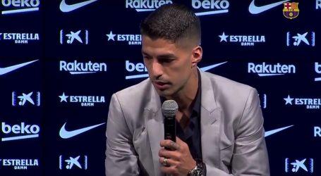 """Suarez se uz suze oprostio od Barcelone: """"Završava faza na koju sam vrlo ponosan"""""""