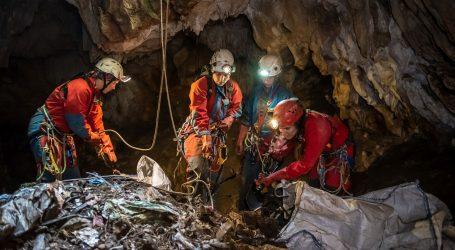 Speleolozi iz šest jama i špilja diljem Hrvatske izvukli čak 25 kubika otpada