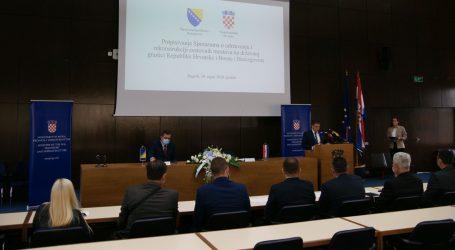 Potpisan Sporazum Hrvatske i BiH o održavanju i rekonstrukciji 10 graničnih mostova