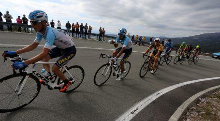 Pogledajte izazovnu biciklističku utrku na kineskoj Nebeskoj cesti
