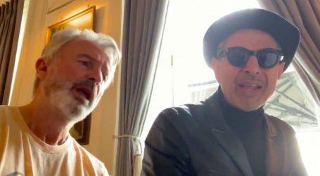 """Jeff Goldblum i Sam Neill zapjevali na snimanju filma """"Jurski svijet: Dominion"""""""