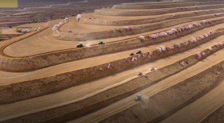 Pogledajte kako su u Kini uspjeli suho brdsko područje pretvoriti u voćnjake