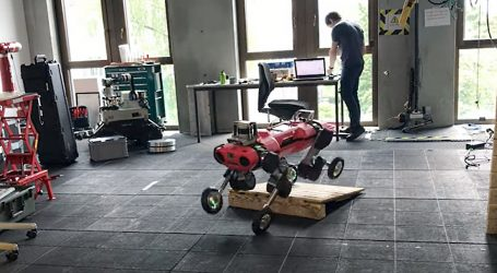Hodajući roboti s kotačima će uskoro imati širu primjenu