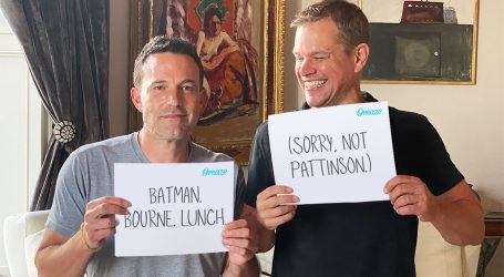 Matt Damon ruga se Benu Afflecku zbog izgubljene uloge Batmana