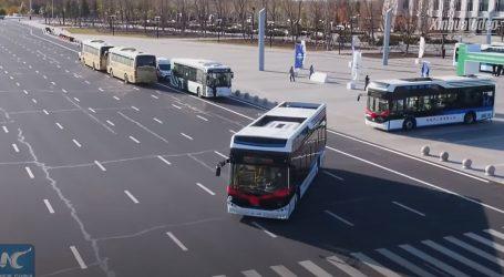 Kina: Autobusi na vodikov pogon uključeni u javni linijski prijevoz