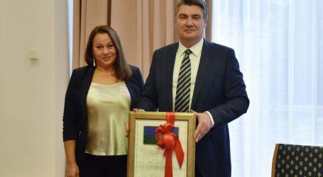 Predsjednik Milanović primio izaslanstvo Saveza Roma