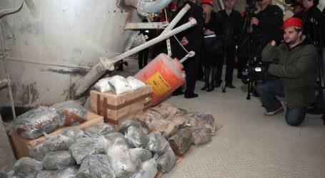 Više od šest tona droge spaljeno u Našicama