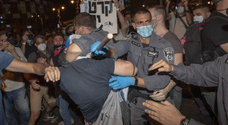 Uhićenja na prosvjedu u Tel Avivu nakon zabrane velikih okupljanja