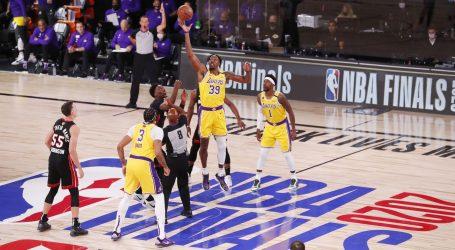 NBA: Lakersi uvjerljivi u prvoj utakmici finala
