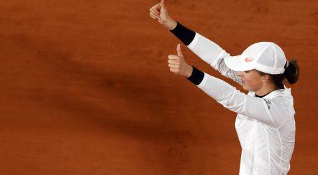 Roland Garros: Swiatek u polufinalu