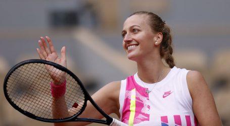 Roland Garros: Petra Kvitova nakon osam godina opet u polufinalu