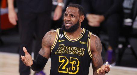 LeBron James četvrti put MVP završnice NBA lige