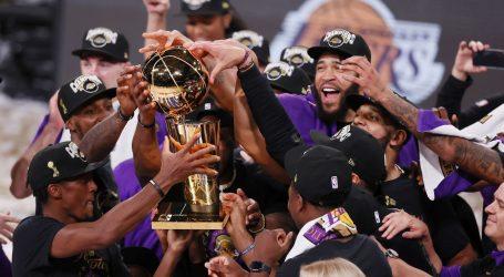 Los Angeles Lakers osvojili 17. naslov prvaka NBA lige