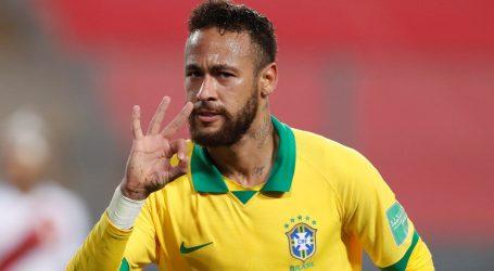 Brazil uz hat-trick Neymara slavio kod Perua
