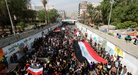 Deseci ozlijeđenih na protuvladinom prosvjedu u Bagdadu
