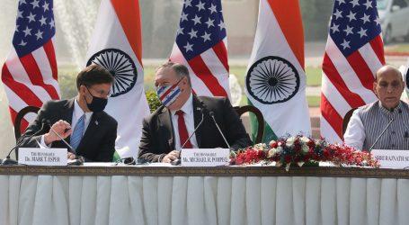 SAD upozorava na kinesku prijetnju, potpisao vojni savez s Indijom