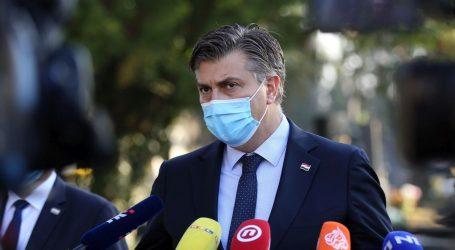 """Plenković: """"Nitko od nas nikad nije govorio o policijskom satu"""""""