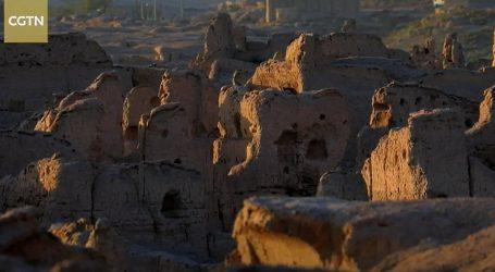 Ruševine i pećine drevnog grada Jiaohea