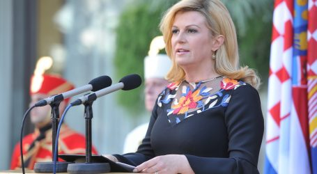 Grabar Kitarović zadovoljna Plenkovićevom podrškom Inicijativi tri mora