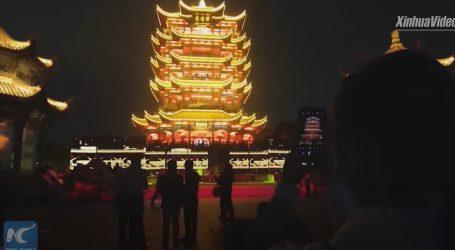 Posjetitelji ponovno mogu u noćno razgledavanje Kule žutog ždrala u Wuhanu